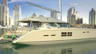 X62 Sail Catamaran.  Design Andrei Rochian