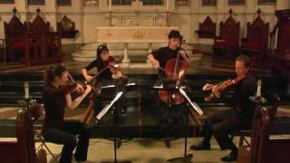 Attacca Quartet plays Haydn Op. 20 no. 4 - Second Movement