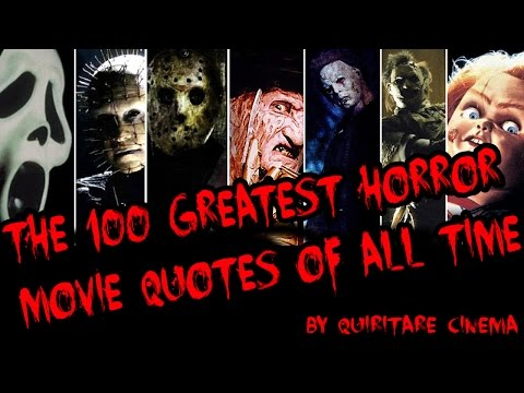 100 Greatest Horror Movie Quotes of All Time Sub. Esp.