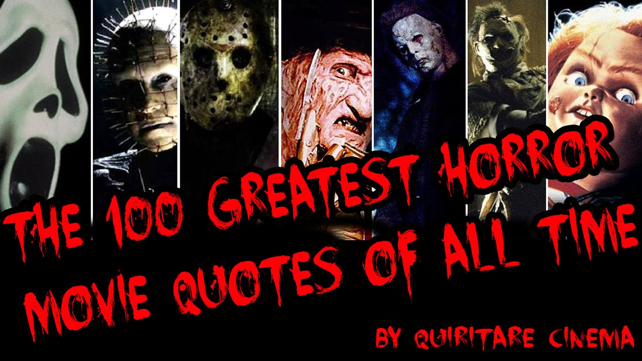 100 greatest horror movie quotes of all time sub esp