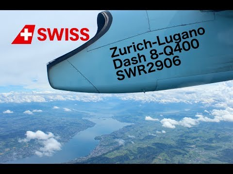 Flight Report: Zurich-Lugano Swiss Dash 8-Q400 Economy