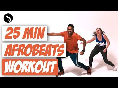 25 min Dance Workout - Afrobeats & Dancehall - Perca calorias dançando