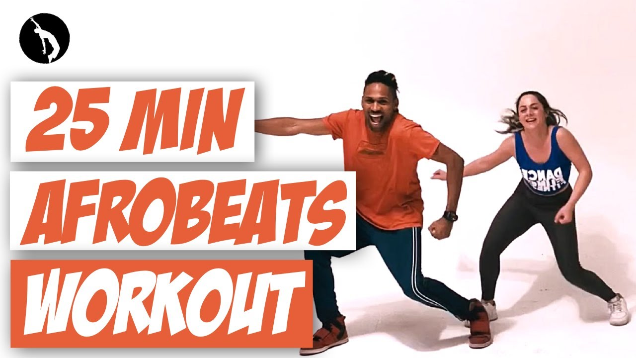 25 min Dance Workout - Afrobeats & Dancehall - Dancestepz by Helio faria