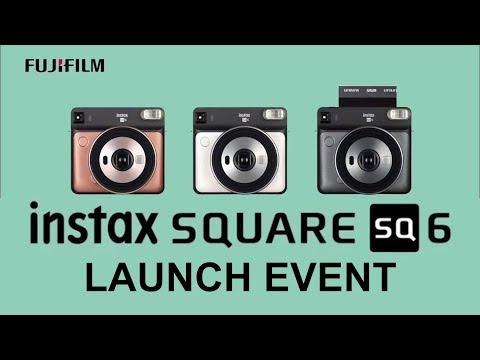 Quick Look: Fujifilm Instax SQ6 Launch Event