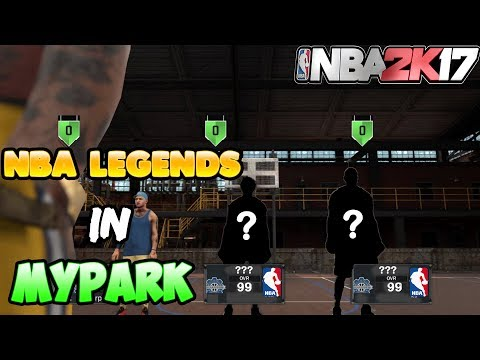 2 NBA LEGENDS CAME OUT OF RETIREMENT JUST TO PLAY ME!!!!