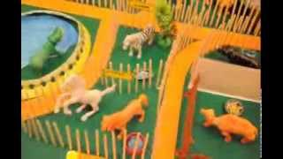 A Project on Model of Zoo with Wild Animal