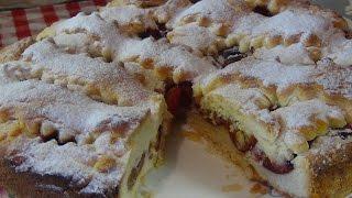 Безумно вкусный пирог со сливами