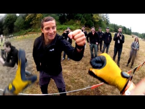 Running the Tough Mudder / BEAR GRYLLS / Seattle