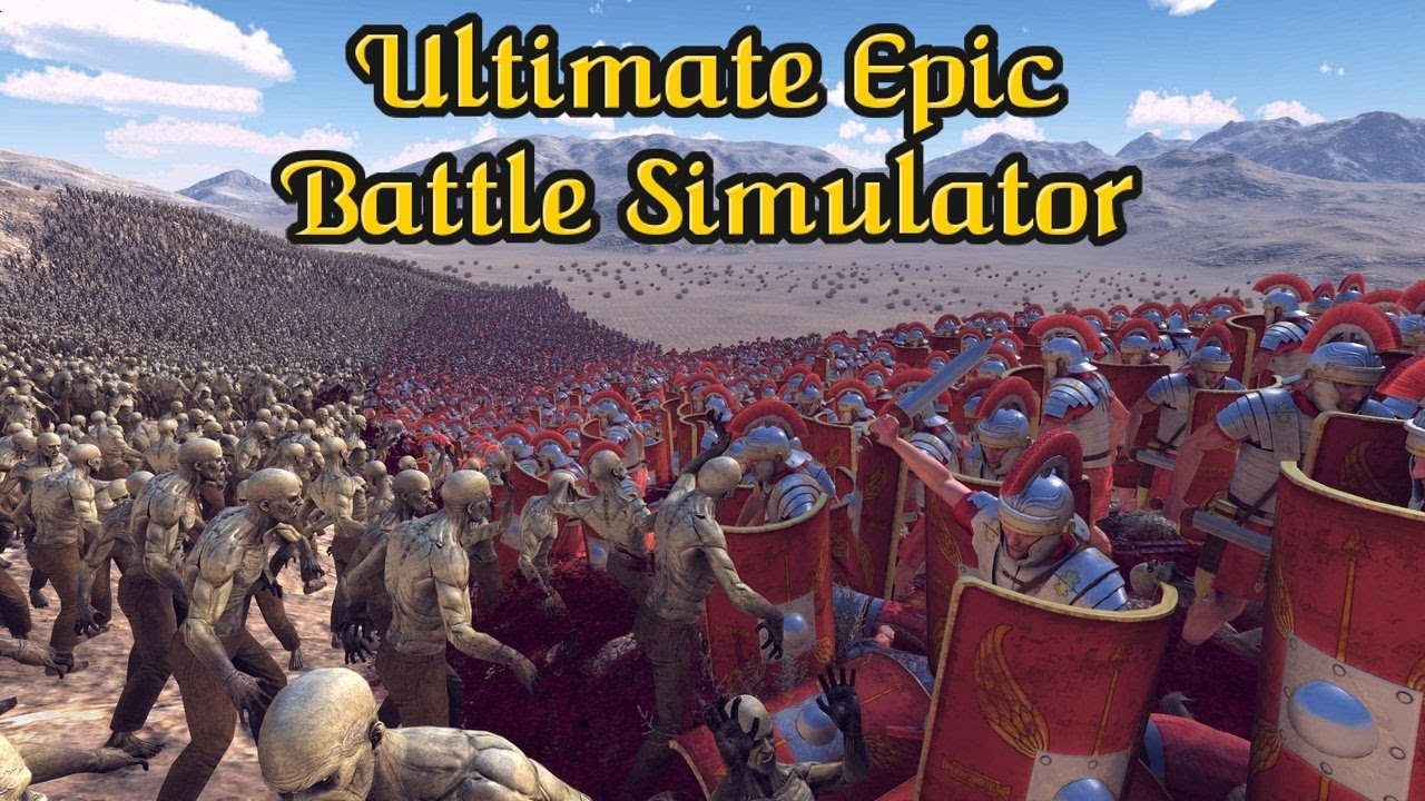 ultimate epic battle simulator mac download