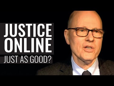 Justice Online: Just as Good? - Joshua Rozenberg QC (hon)