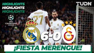 Highlights | Real Madrid 6 - 0 Galatasaray | Champions League - J4 - Grupo A | TUDN