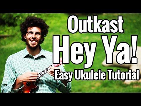 Outkast - Hey Ya! - Ukulele Tutorial - EASY