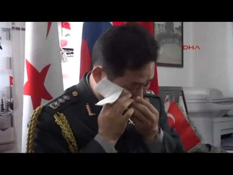 South Korean defense attaché moved to tears during visit of Turkish war veterans