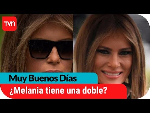 ¿Melania Trump tiene una doble? | Muy buenos días