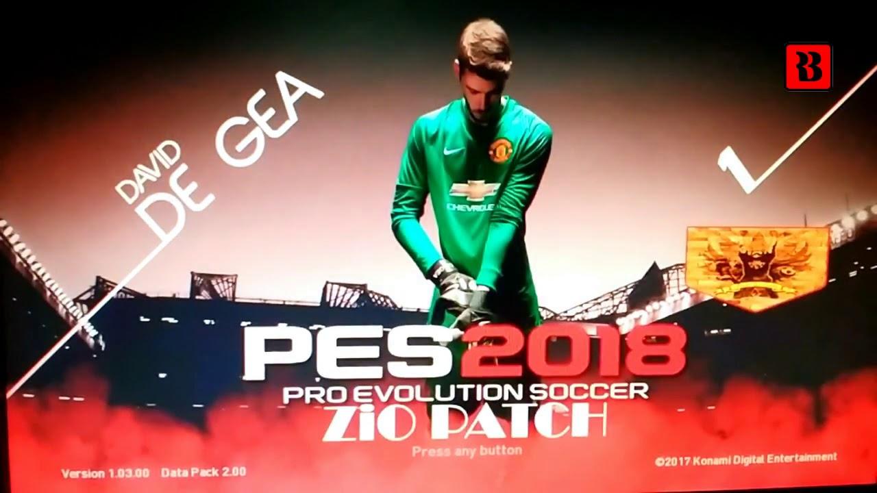 PES 2018 PS3 Zio Patch v2 + v2 1 — PES Club