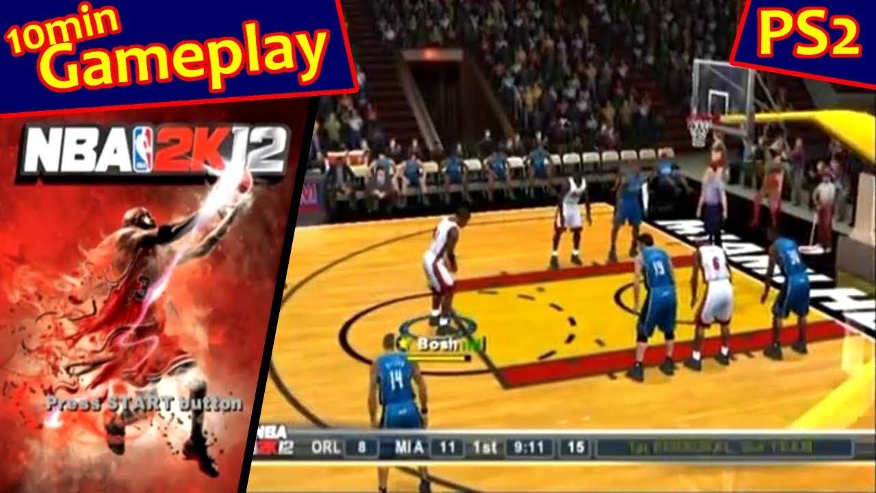 NBA 2K12 ... (PS2) - YouTube