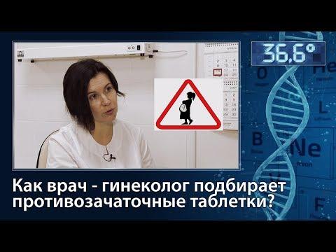 Как гинеколог подбирает противозачаточные