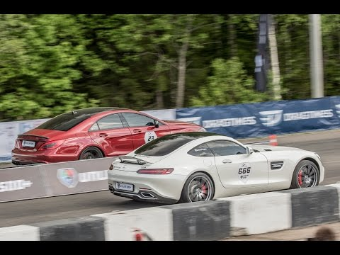Mercedes-AMG GT S vs CLS63 AMG vs ML63 AMG
