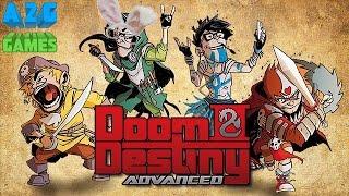 Doom & Destiny Advanced - JRPG Esilarante Made in Italy! D&D - Gameplay ITA / Let