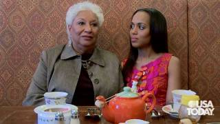 Five Questions with Kerry Washington and mom