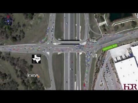 New Diamond Type of Intersection Should Help Traffic in Round Rock