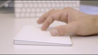 Das Apple Magic Trackpad 2 (Herbst 2015) ausprobiert - Hands-On - GIGA.DE