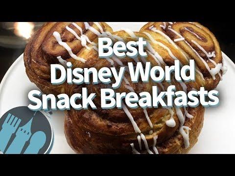 Top 10 Best Disney World Snack Breakfasts