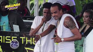Tommy Lee Sparta and friends doing it big at the show, TANTO DUPPY AT SHELLINGS ST. Catherine