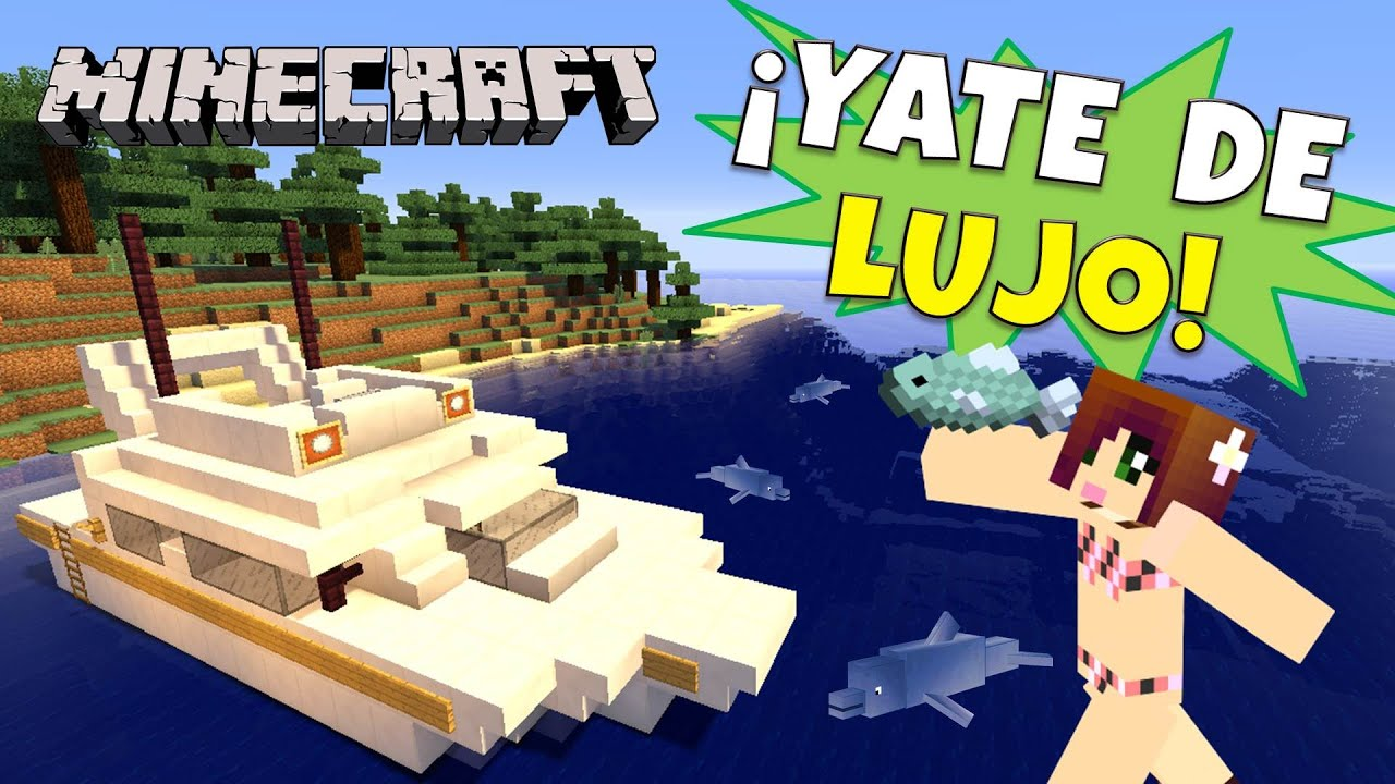 Minecraft yate de lujo super tutorial viyoutube for Casa moderna rey zerch