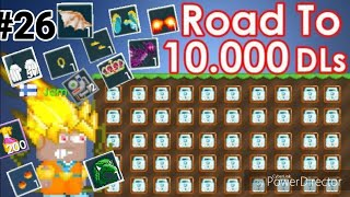 Road To 10,000 DLS #26 ( SELLING ALL MY EXPENSIVE ITEMS!!! ) Ft. Scammer! - Growtopia