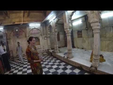 "Visit to Karni Mata Temple, ""Temple of the Rats"", Bikaner, Rajasthan (GoPro video)"