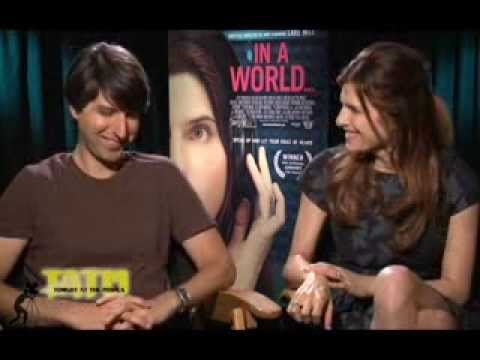 "Exclusive Interview: Lake Bell And Demetri Martin ""In A World"" -- Nerd Humor And The Nose"