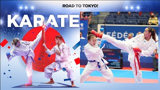 Karate Olympic Qualification Tournament   FINALS - Day 3