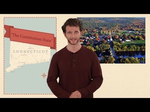 Connecticut - 50 States - US Geography