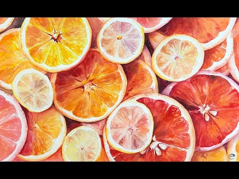 how-to-paint-orange-slices-in-watercolors