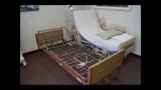 Invacare and Hill Rom Hospital Beds Comparison Video