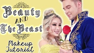 Beauty and The Beast Makeup (Featuring Husband MIke!)