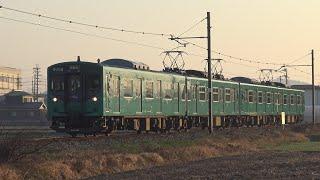 【4K】JR加古川線 普通列車103系電車 カコM6編成+カコM2編成