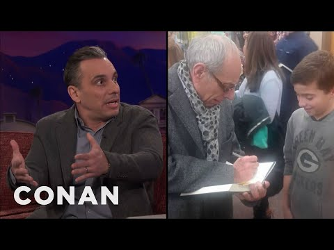 Sebastian Maniscalco: My Dad Sells My Book At His Hair Salon  - CONAN on TBS