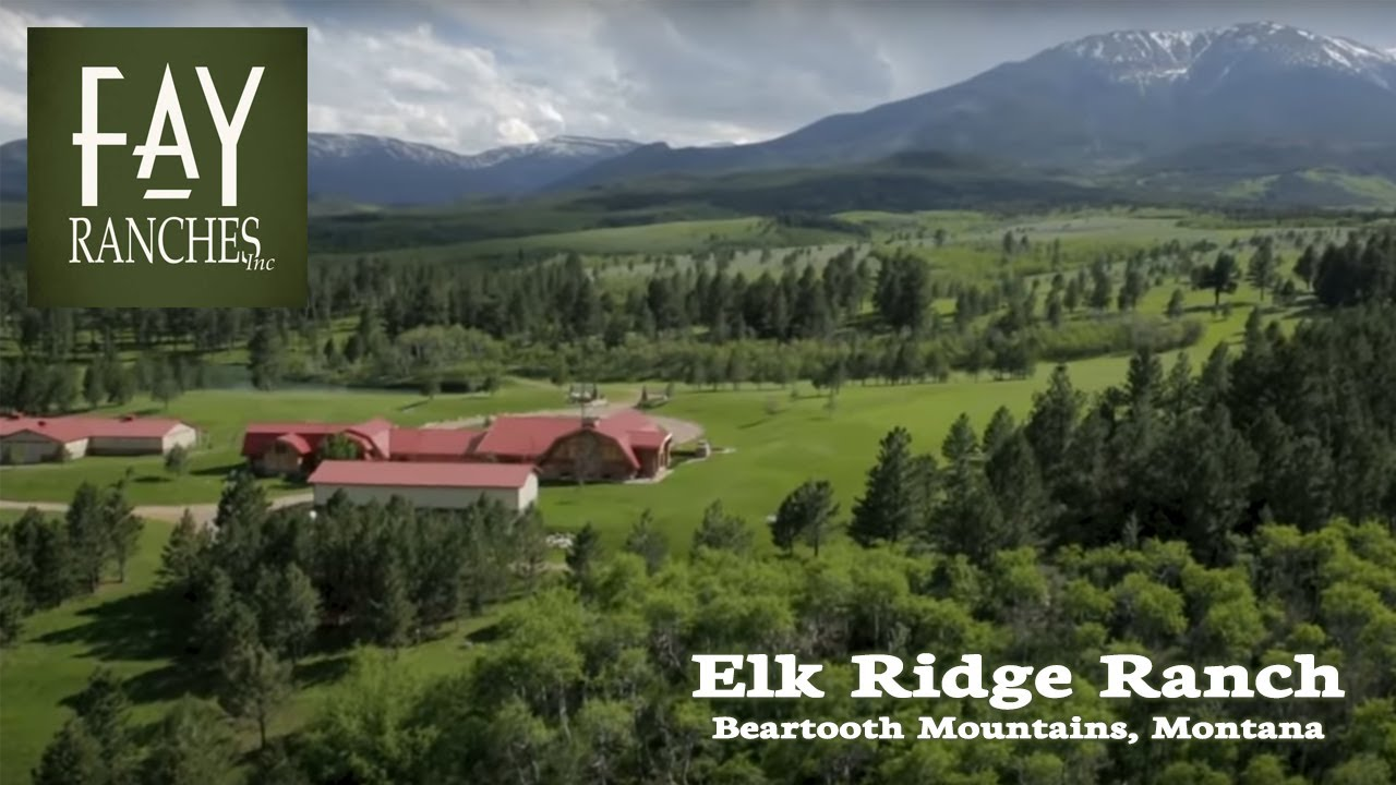 Montana Ranches For Sale - Elk Ridge Ranch