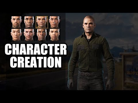 FAR CRY 5 - Character Creation / Customization - No Commentary