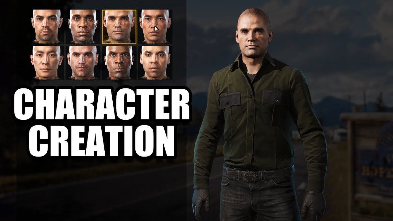 Far Cry 5 Character Creation Customization No Commentary Youtube