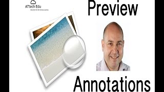 Mac Tips Preview - Adding Annotations to a pdf using Apple Mac OS X Preview