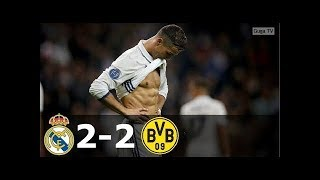 Real Madrid vs Borussia Dortmund 2-2 - UCL 2016/2017 - Full Highlights (English Commentary) HD