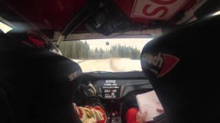 Mikko Eskelinen & Arto Kapanen - Mitsubishi Lancer WRC Step2 talvitestit 2016