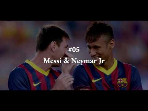 Top 10 Best Attacking Duos In Football ● Friendship & Teamwork