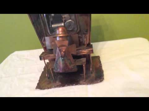 Solid copper musical vintage toy/decor