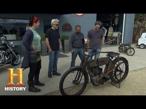 American Pickers: Mike Revives A 1911 Harley Davidson (Season 11) | History