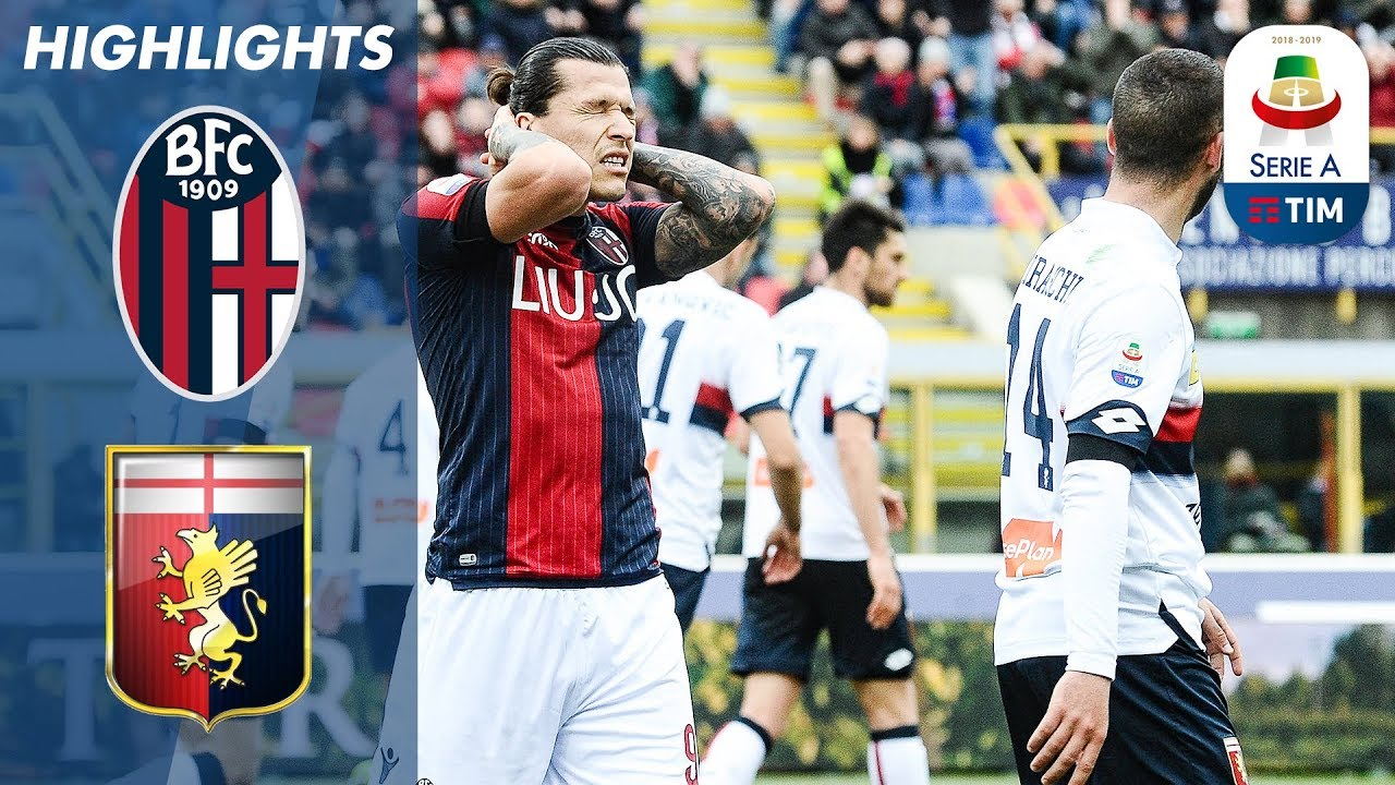 Bologna 1 1 Genoa Bologna Climb Out Of Relegation Zone With Draw Serie A Youtube