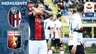 Two goals in the first half from mattia destro for bologna then lukas lerager genoa meant both sides had to settle a point.this is official chann...